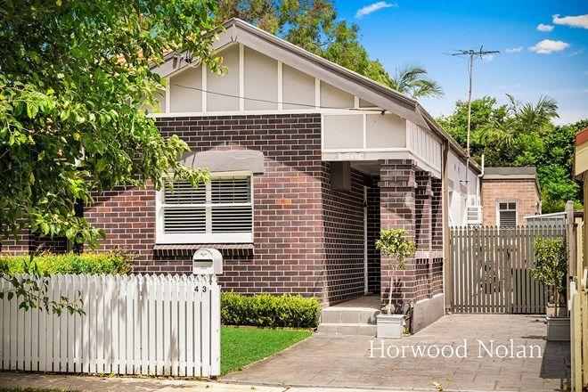 Picture of 43 Arthur Street, RODD POINT NSW 2046