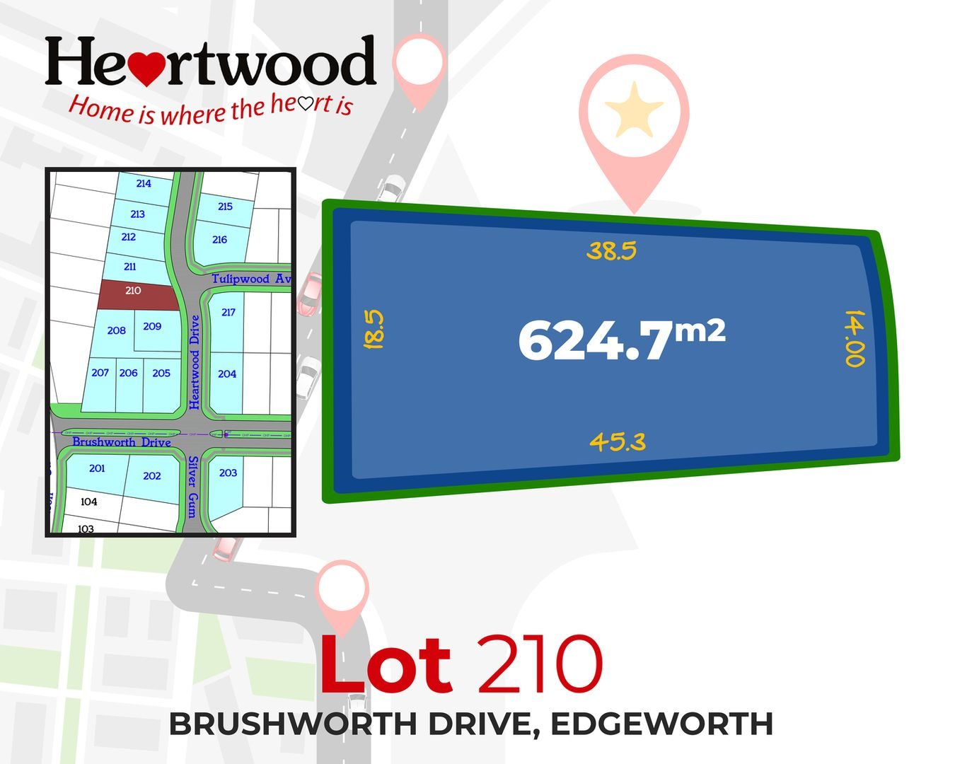 Lot 210 Heartwood Drive, Edgeworth NSW 2285, Image 1