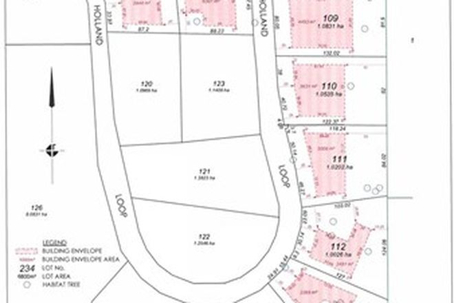 Picture of 8 Lots Holland Loop, CROOKED BROOK WA 6236