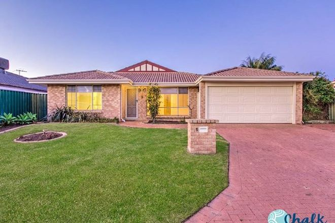 Picture of 5 Hillcrest Court, PORT KENNEDY WA 6172