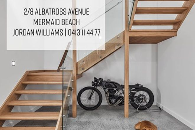 Picture of 2/8 Albatross Avenue, MERMAID BEACH QLD 4218