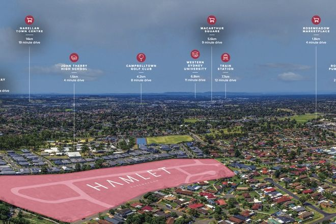 Picture of Lot 58 Home & Land Package at Hamlet, ROSEMEADOW NSW 2560