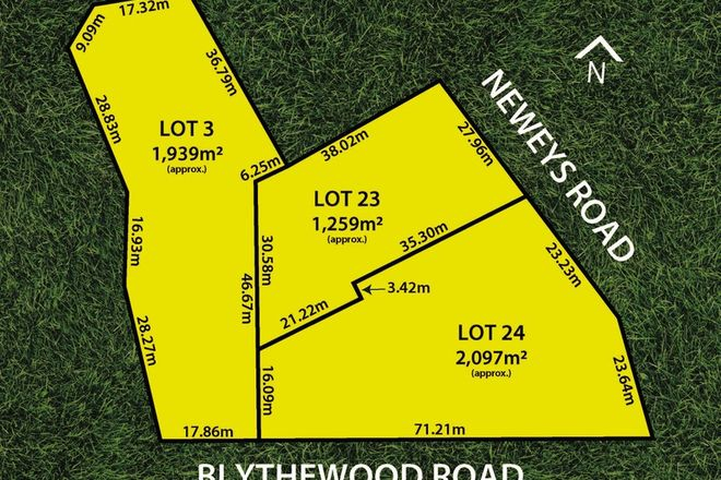 Picture of Lots 23 & 24 Neweys & 52 Blythewood Roads, MITCHAM SA 5062