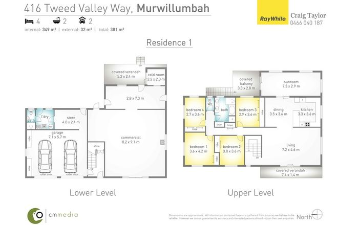 Picture of 416 Tweed Valley Way, SOUTH MURWILLUMBAH NSW 2484