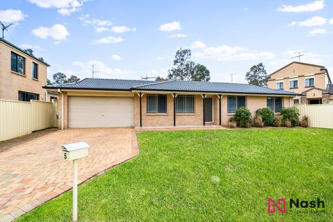 Picture of 5 Patrick Place, CURRANS HILL NSW 2567