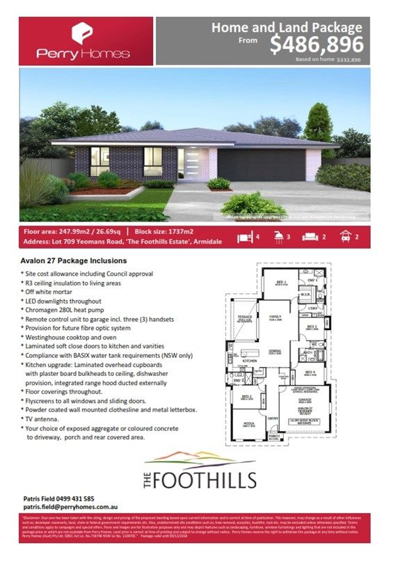 Lot 709 Yeomans Road, Armidale NSW 2350, Image 1