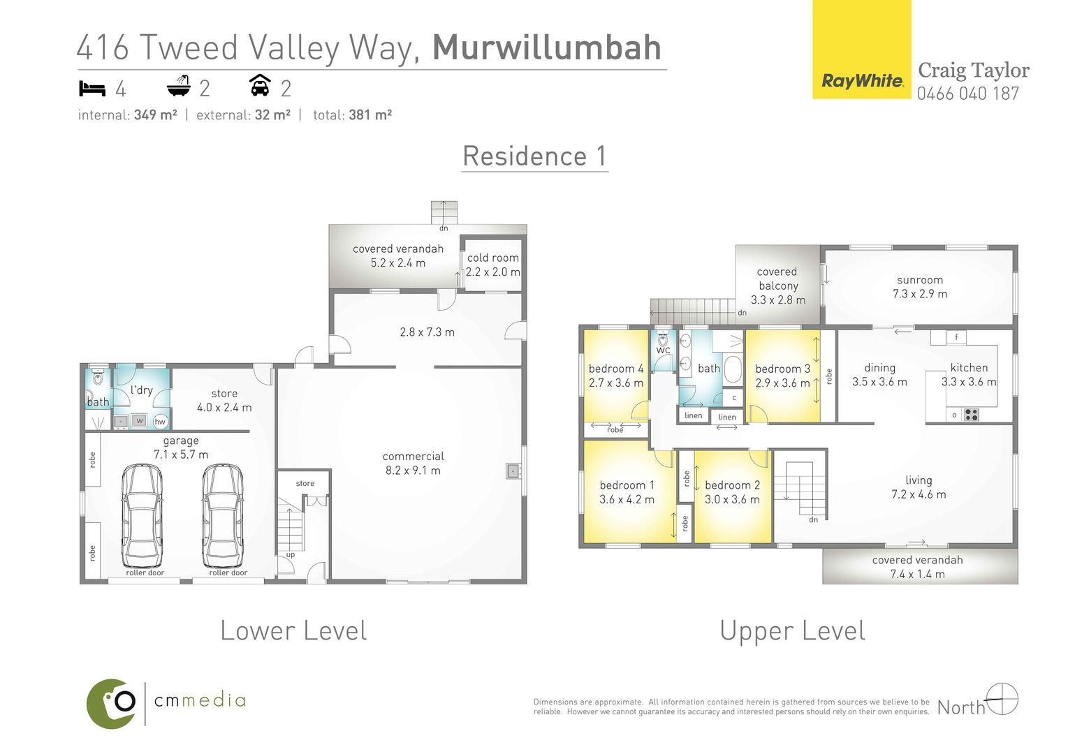 416 Tweed Valley Way, South Murwillumbah NSW 2484, Image 1