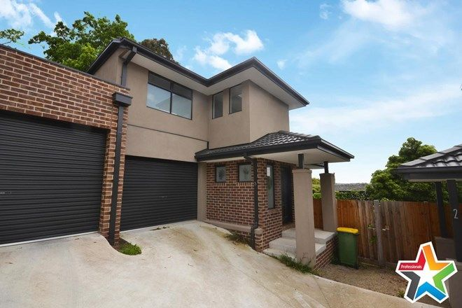 Picture of 3/34 Central Avenue, MOOROOLBARK VIC 3138