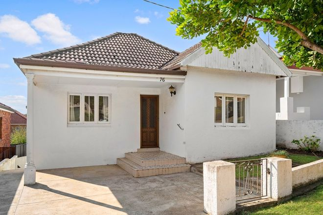 Picture of 76 Alma  Road, MAROUBRA NSW 2035