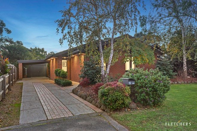 Picture of 2 Honeysuckle Walk, CROYDON SOUTH VIC 3136