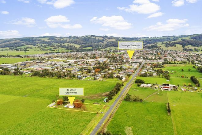 Picture of 86 Willow Grove Road, TRAFALGAR VIC 3824