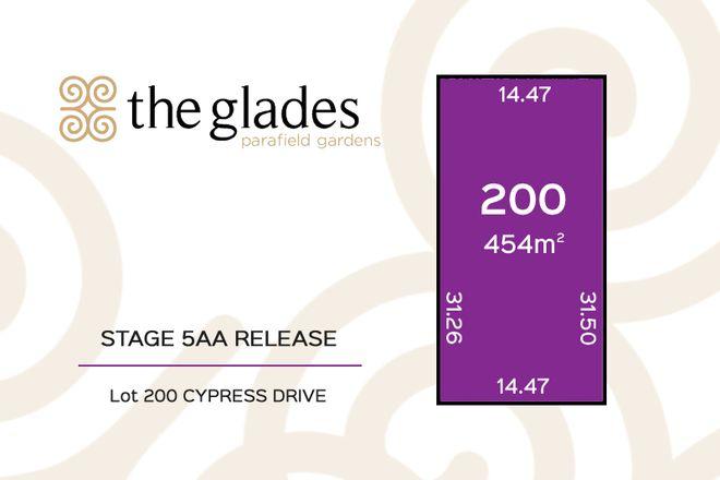 Lot 200 Cypress Drive, PARAFIELD GARDENS SA 5107