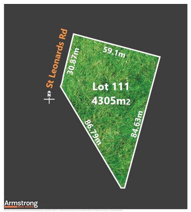 Lot 111 St Leonards Road, Winchelsea VIC 3241, Image 0
