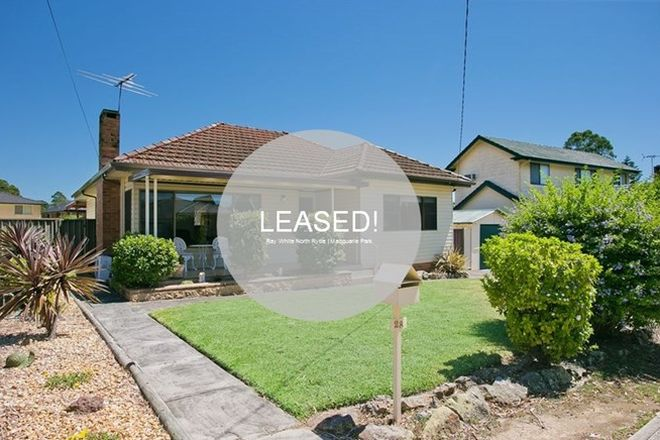 Picture of 28 Ryrie Street, NORTH RYDE NSW 2113