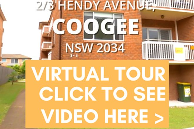 Picture of 2/3 Hendy Avenue, COOGEE NSW 2034