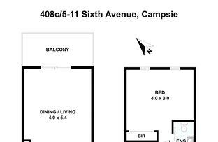 Picture of 408c/5-11 Sixth Avenue, Campsie NSW 2194
