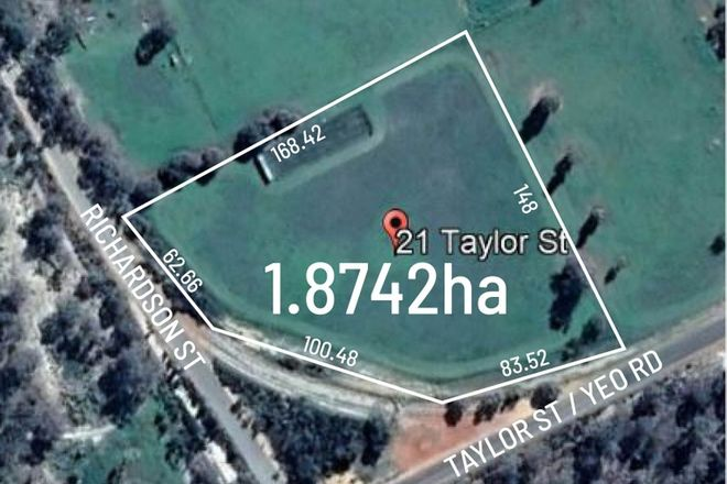 Picture of 21 Taylor Street, BROOKTON WA 6306