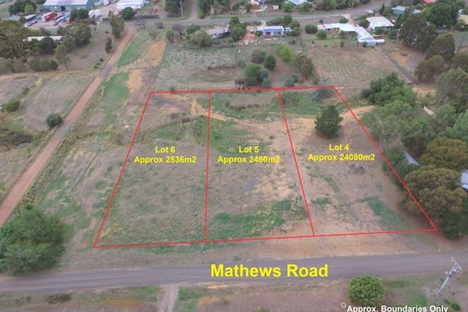 Picture of 4 Matthews Road, ARGYLE VIC 3523
