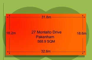 Picture of 27 Montalto Drive, Pakenham VIC 3810