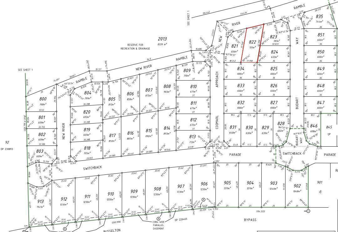 Proposed Lot 822, Old Broadwater Farm Estate, West Busselton WA 6280, Image 2