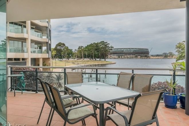 Picture of 2/1 Henry Lawson Walk, EAST PERTH WA 6004