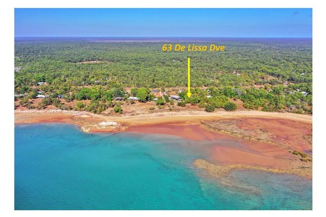 Picture of 63 De Lissa Dve, WAGAIT BEACH NT 0822
