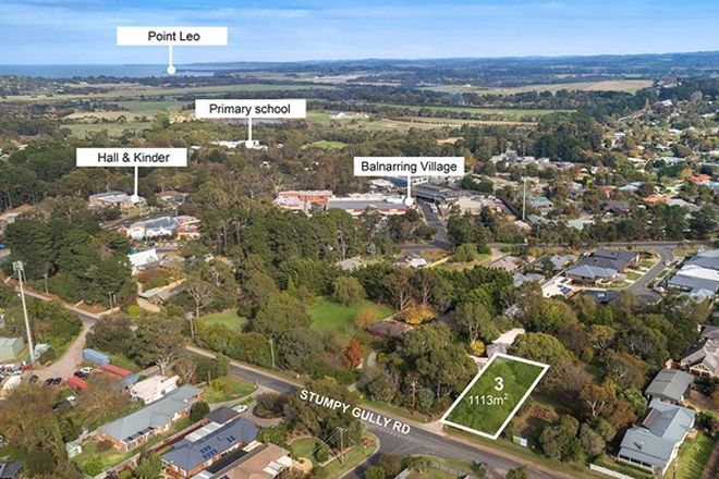 Picture of Lot 3/21 - 25 Stumpy Gully Road, BALNARRING VIC 3926