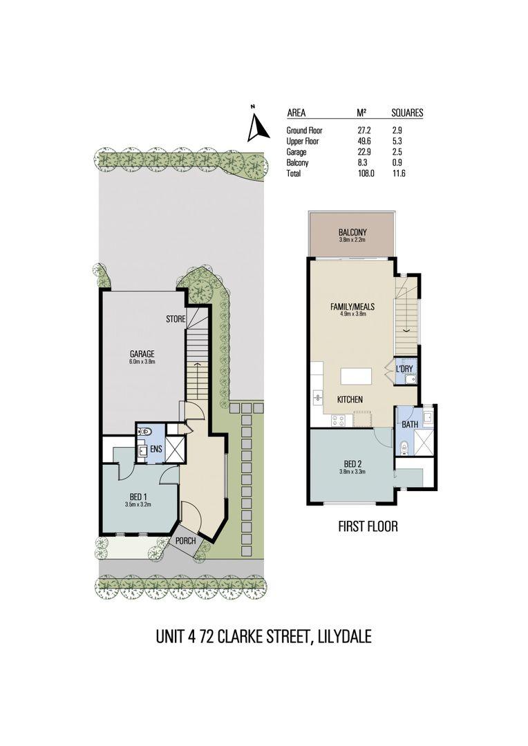 Unit 4, 5, 7/72 Clarke Street, Lilydale VIC 3140, Image 1