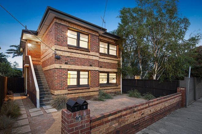 Picture of Units 1 & 2/10 Lang Street, SOUTH YARRA VIC 3141