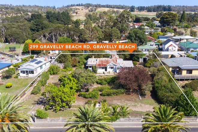 Picture of 299 Gravelly Beach Road, GRAVELLY BEACH TAS 7276