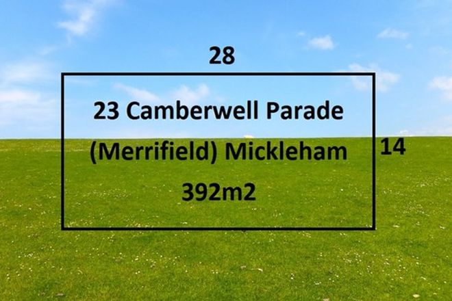 Picture of 23 Camberwell Parade, MICKLEHAM VIC 3064
