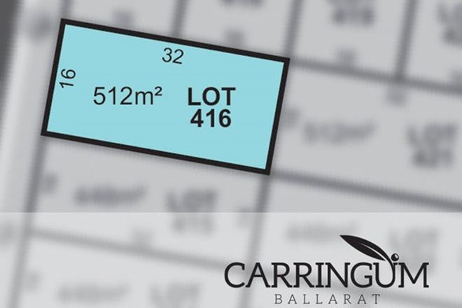 Picture of Carringum/Lot 416 Kite Street, WINTER VALLEY VIC 3358