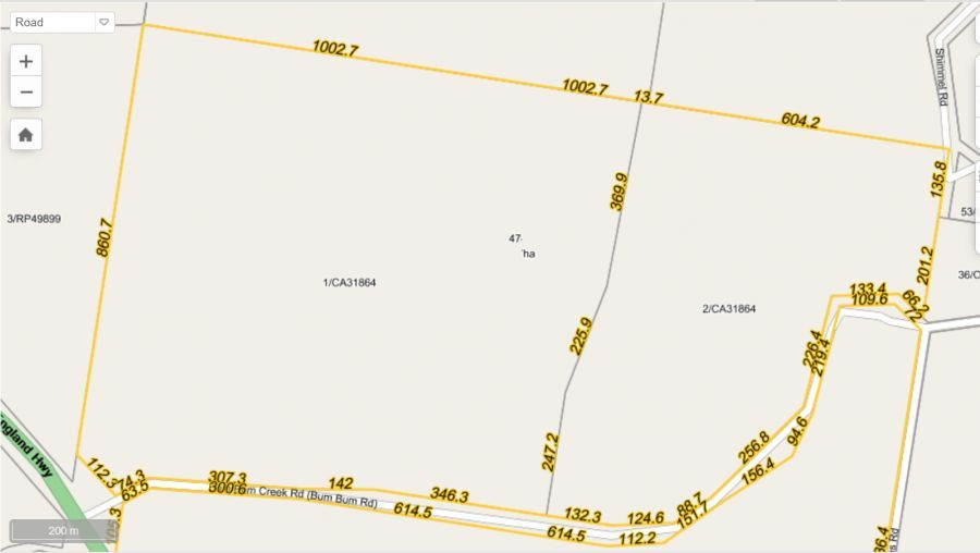 1 Bum Bum Creek Road, St Aubyn QLD 4352, Image 0
