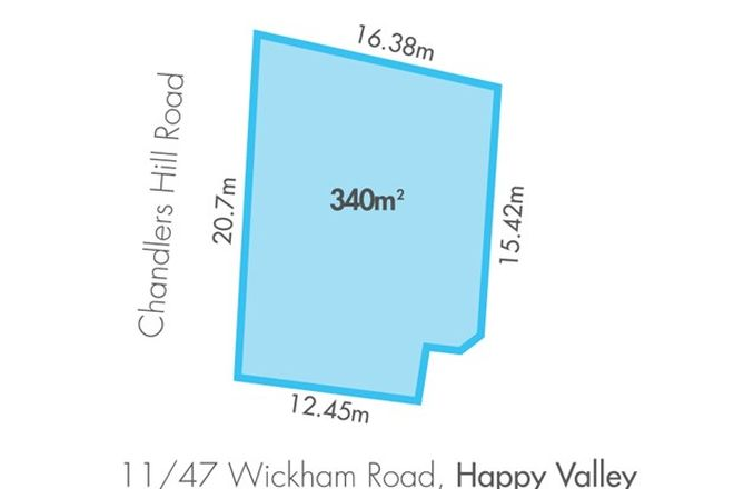 Picture of 11/47 Wickham Road, HAPPY VALLEY SA 5159