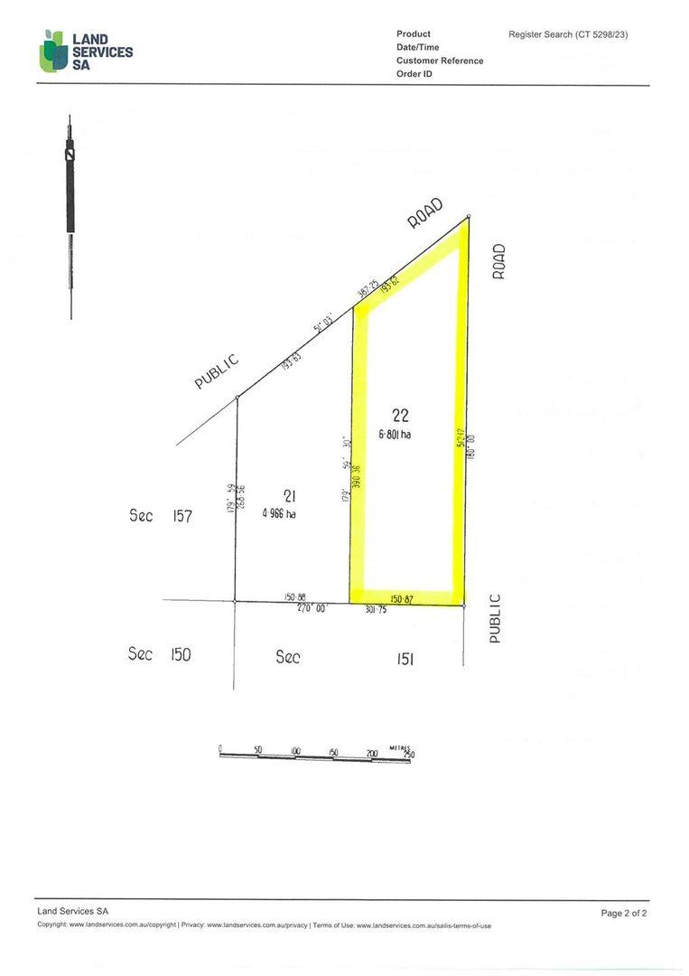Lot 701, 702 & 703 Port Victoria Road, Port Victoria SA 5573, Image 2