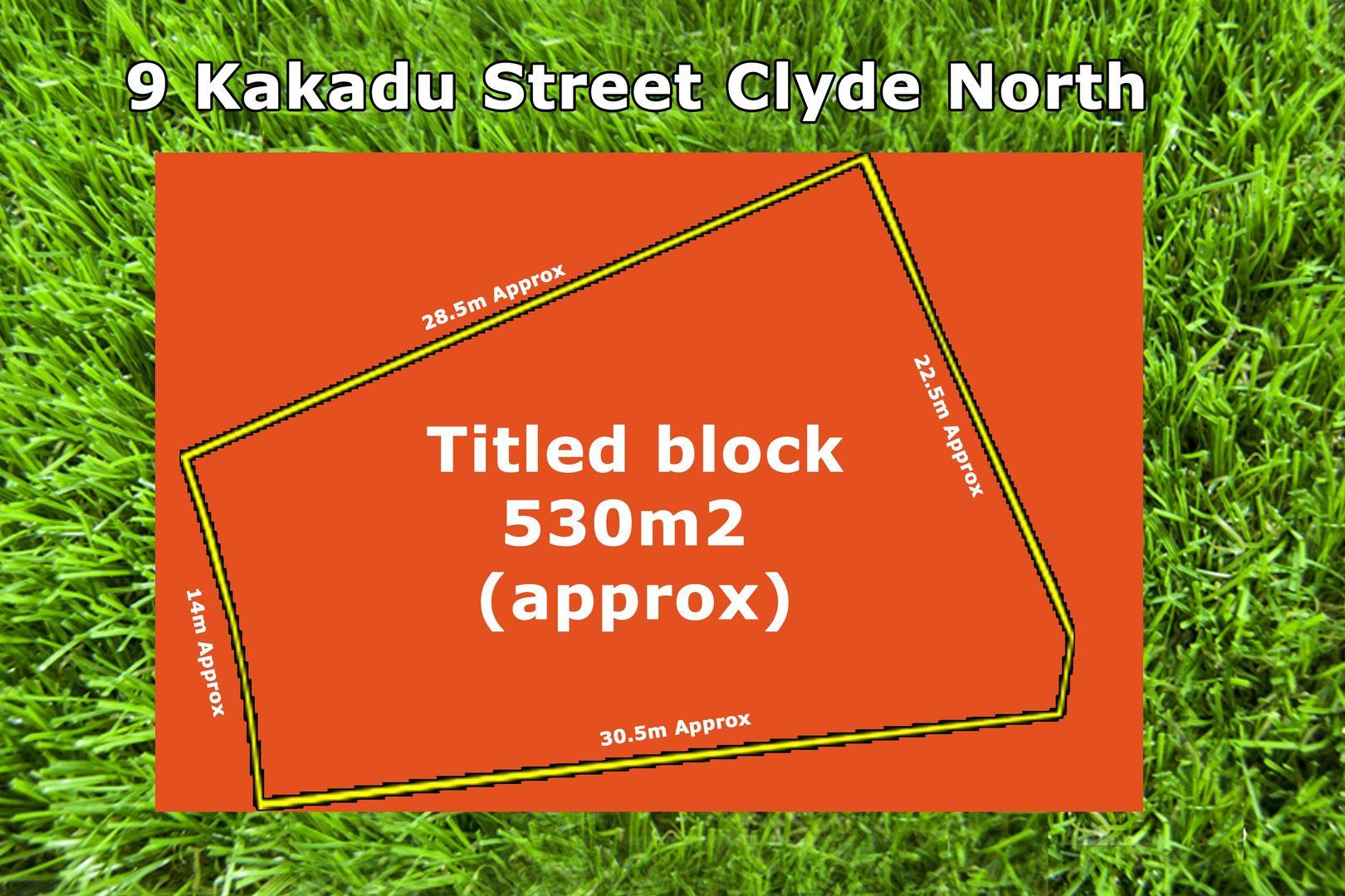 9 Kakadu Street, Clyde North VIC 3978, Image 0