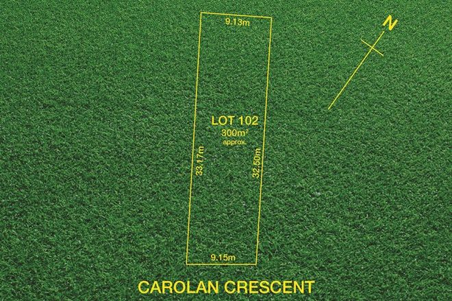 Picture of Lot 102/8 Carolan Crescent, VALLEY VIEW SA 5093
