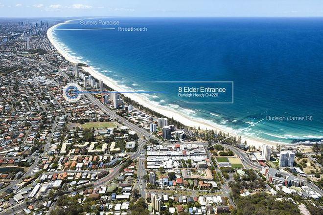 Picture of 8 Elder Entrance, BURLEIGH HEADS QLD 4220