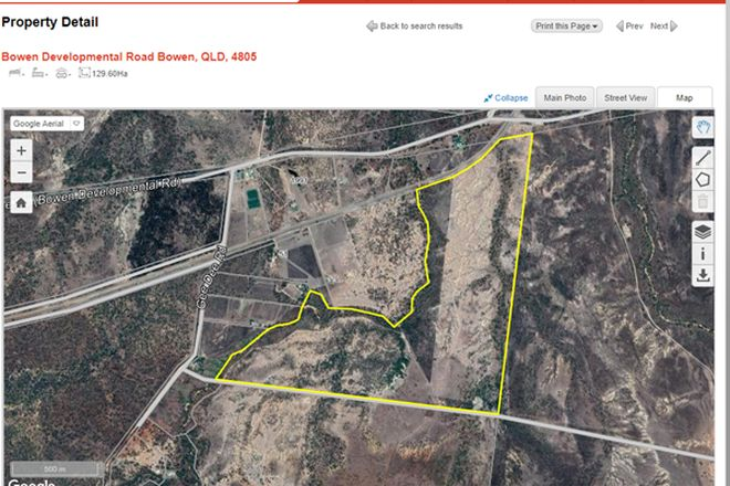 Picture of Lot 9 Bowen Developmental Road, BOWEN QLD 4805