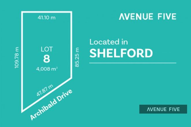 Picture of Lot 8 Archibold Drive, SHELFORD VIC 3329