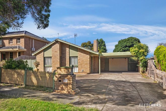 Picture of 43 Hertford Road, DONCASTER EAST VIC 3109