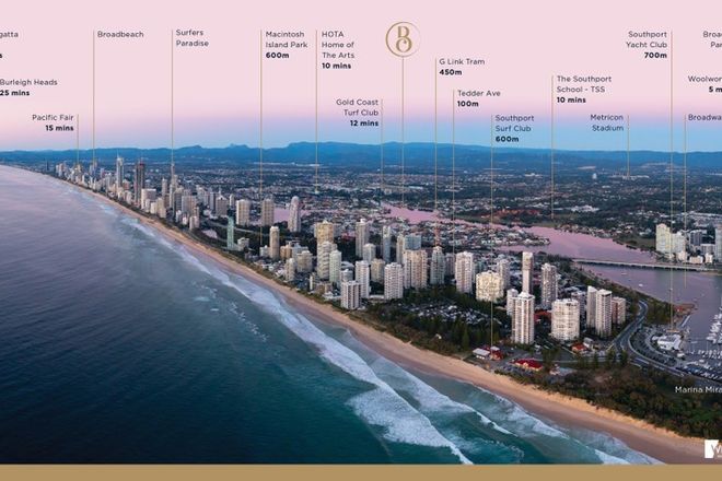Picture of Terrace/25 Woodroffe Ave, MAIN BEACH QLD 4217