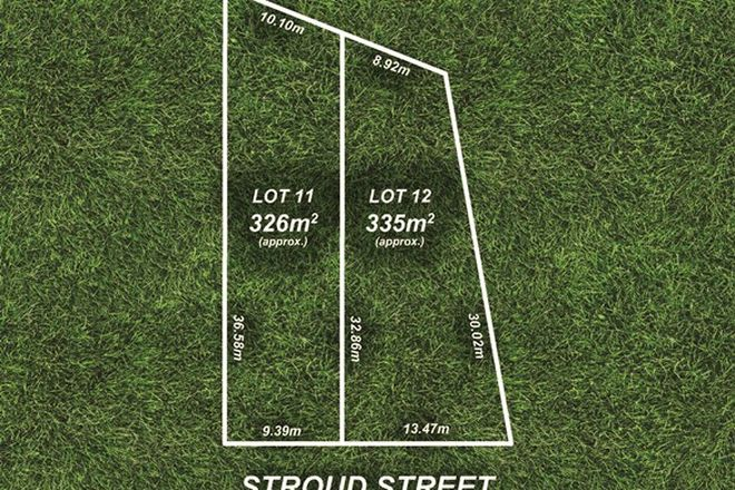 Picture of Lot 11 & 12/15 Stroud Street, CLEARVIEW SA 5085