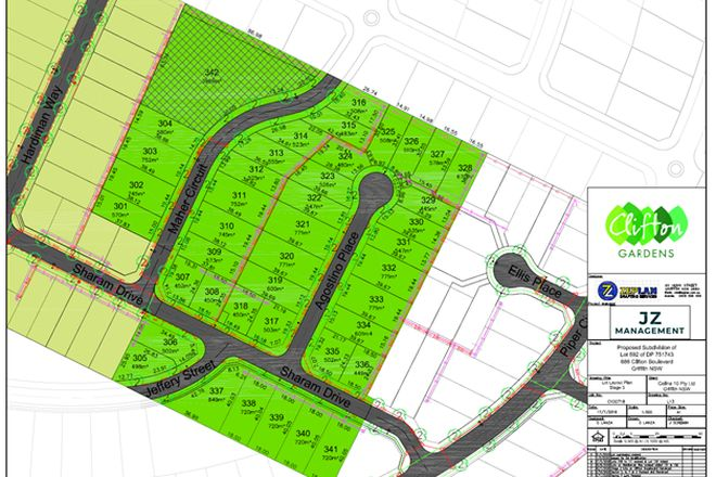 Picture of Lot 312 Clifton Gardens, GRIFFITH NSW 2680