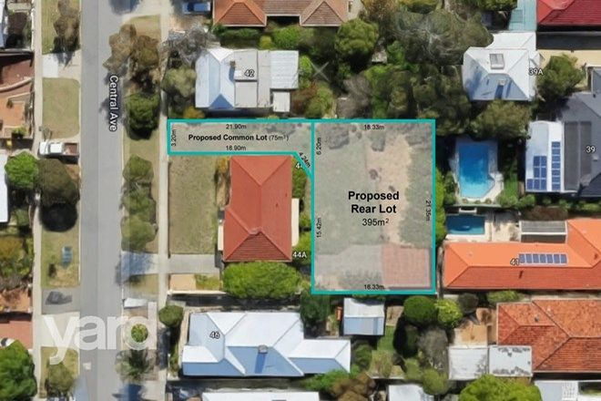 Picture of 44A Central Avenue, BEACONSFIELD WA 6162