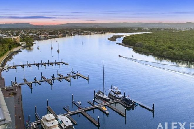 Picture of 6604/6 Penthouse Marina Promenade Salacia Waters, PARADISE POINT QLD 4216