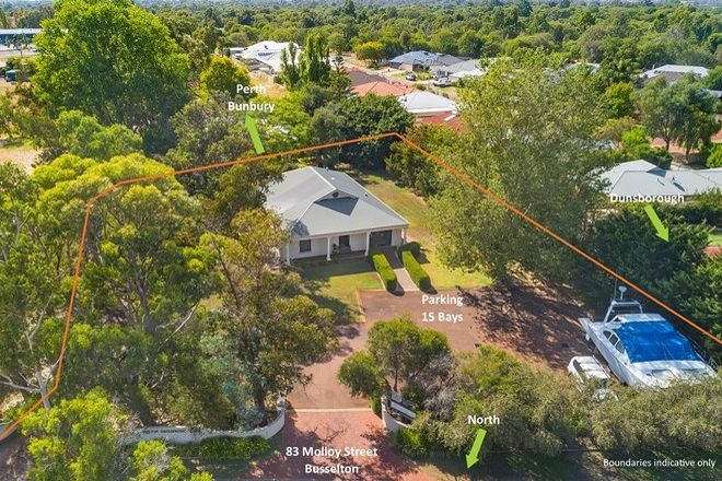 Picture of 83 Molloy Street, BUSSELTON WA 6280