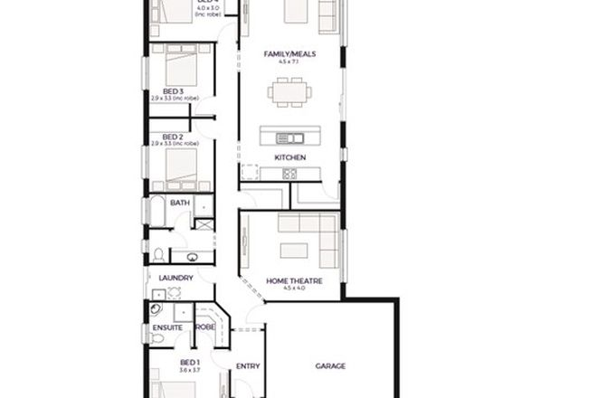 Picture of Lot 100, 169 Brougham Drive, VALLEY VIEW SA 5093