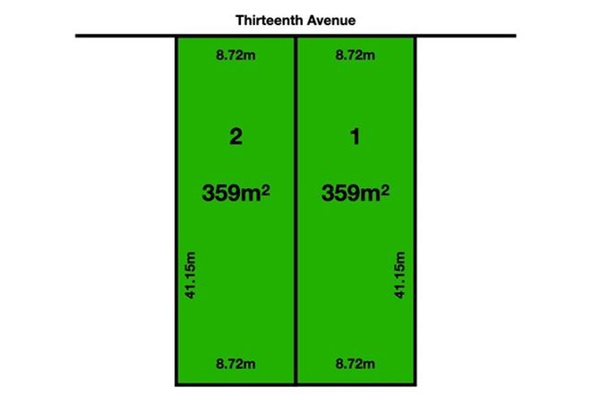 Picture of Lot 1 & 2 Thirteenth Avenue, WOODVILLE NORTH SA 5012