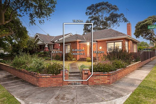 Picture of 32 Ramsay Avenue, KEW EAST VIC 3102